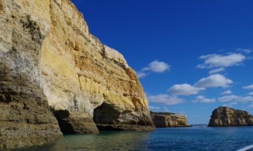 Zdjęcie PORTUGALIA / Algarve / Benagil / - wycieczka brzegiem Atlantyku-