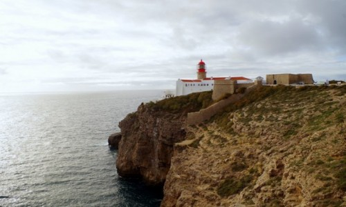Zdjęcie PORTUGALIA / algarve / S. Vicente  / -latarnia morska -