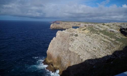 Zdjęcie PORTUGALIA / algarve / przyl. S. Vicente  / -przylądek świętego Wincentego -
