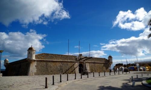 Zdjęcie PORTUGALIA / algarve / Lagos / -fortyfikacja obronna przy porcie-