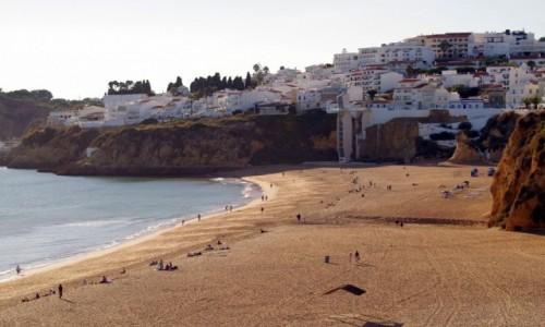 Zdjęcie PORTUGALIA / algarve / Albufeira / - windą na plażę -