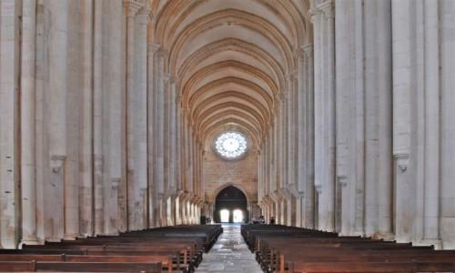PORTUGALIA / Oeste / Alcobaca - Opactwo Cystersów / Santa Maria de Alcobaca