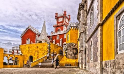 Zdjecie PORTUGALIA / Sintra / Sintra /  Pałac Pena w S