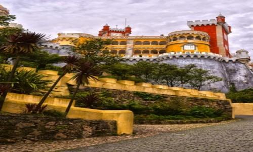 Zdjecie PORTUGALIA / Sintra / Sintra / Pałac Pena w Si