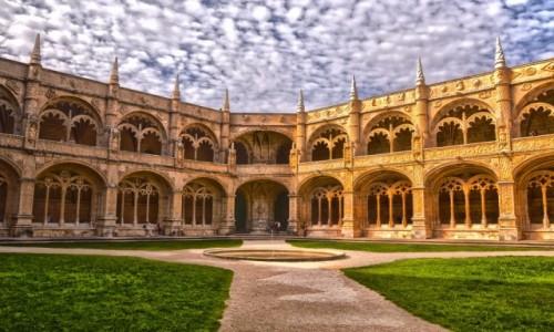 Zdjecie PORTUGALIA / Lizbona / Lizbona / Klasztor Hieronimitów