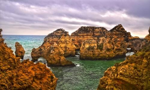 PORTUGALIA / Algarve  / Lagos / Ponta da Piedade
