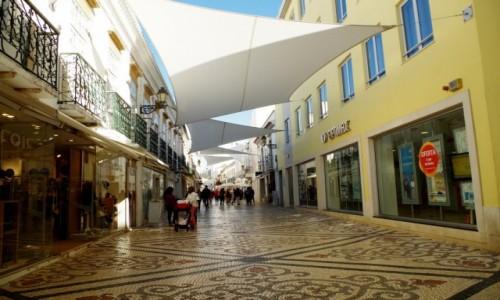 Zdjecie PORTUGALIA / algarve / Faro / -spacer uliczka