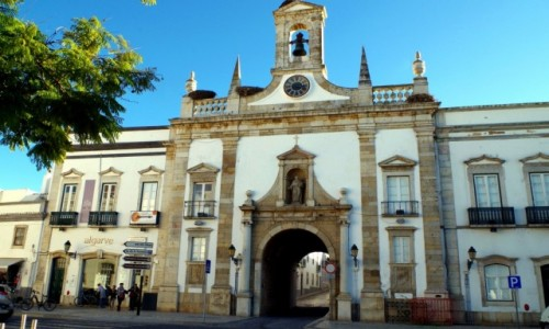 Zdjecie PORTUGALIA / algarve / Faro / - historyczne b