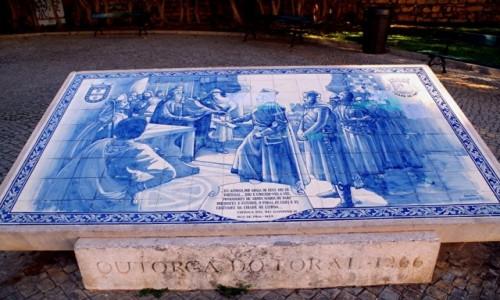 PORTUGALIA / algarve / Faro / - azulejos -