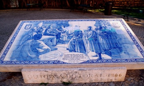 Zdjęcie PORTUGALIA / algarve / Faro / - azulejos -