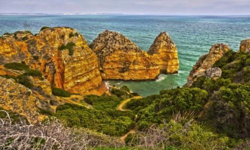 PORTUGALIA / Algarve / Lagos / Ponta da Piedade.