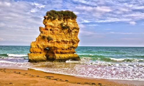 Zdjecie PORTUGALIA / Algarve / Lagos / Praia Dona Ana