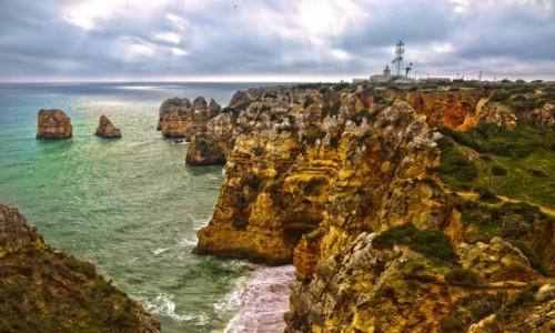 Zdjecie PORTUGALIA / Lagos / Algarve / Ponta da Piedad