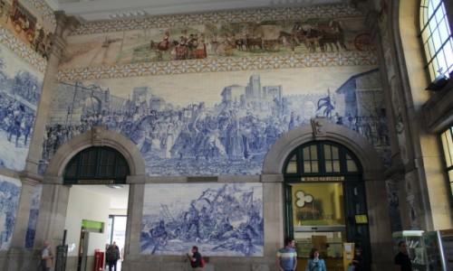 Zdjecie PORTUGALIA / - / Porto / azuljos