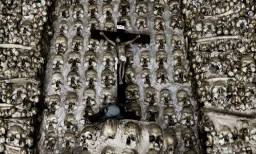 Zdjęcie PORTUGALIA / Algarve / Alcantarilha / kaplica zbudowana z czaszek i kości mnichow
