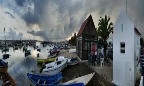 Zdjęcie PORTUGALIA / Algarve / Santa Luzia / Santa Luzia-wioska rybacka