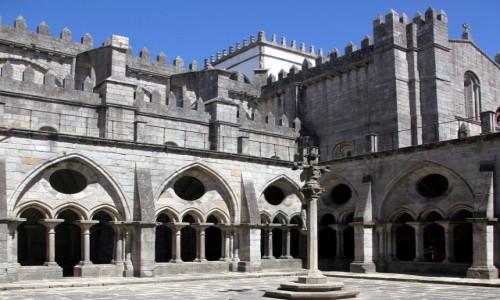 Zdjęcie PORTUGALIA / Porto / Katedra Se do Porto  / Patio