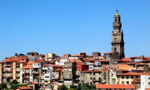 Zdjęcie PORTUGALIA / Porto / Wzgórze Pena Ventosa / Ponad dachami