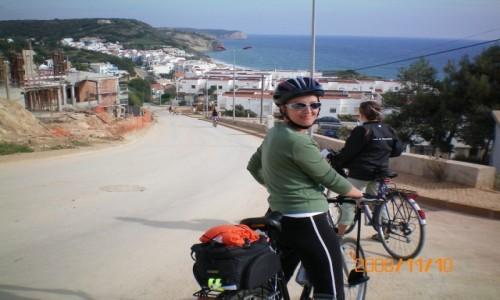Zdjęcie PORTUGALIA / . / Algarve / Rowerem tez można zwiedzać świat ;)