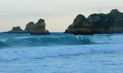 Zdjęcie PORTUGALIA / Algarve / Lagos/Praia D. Ana / plaża D. Ana