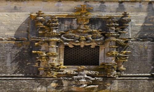 Zdjecie PORTUGALIA / / / Tomar / Klasztor Chrystusa Pana. Okno