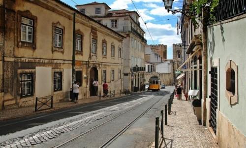 Zdjecie PORTUGALIA / - / LIZBONA / ELECTRICO AMARE