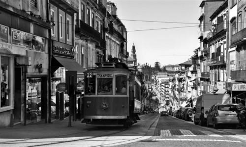 Zdjecie PORTUGALIA / Douro Litoral / Porto / starych tramwaj