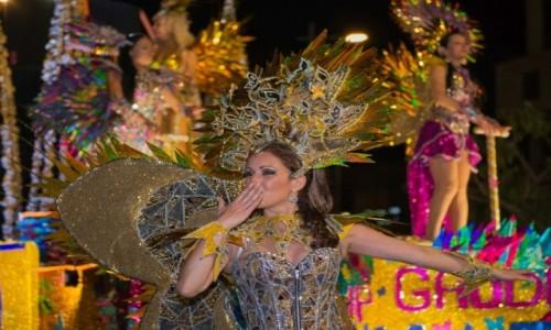 PORTUGALIA / Madera / Funchal / Parada karnawałowa na Maderze