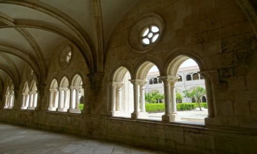 Zdjecie PORTUGALIA / Centrum / Mosteiro de Santa Maria de Alcobaca / Krużganki Ciszy