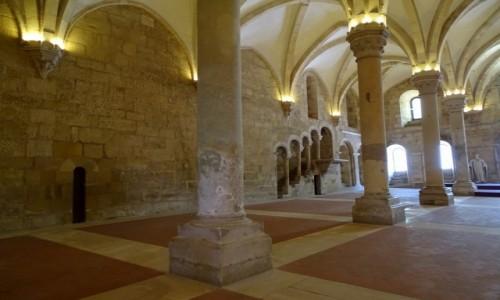 Zdjęcie PORTUGALIA / Centrum / Klasztor cystersów Santa Maria de Alcobaca / Refektarz