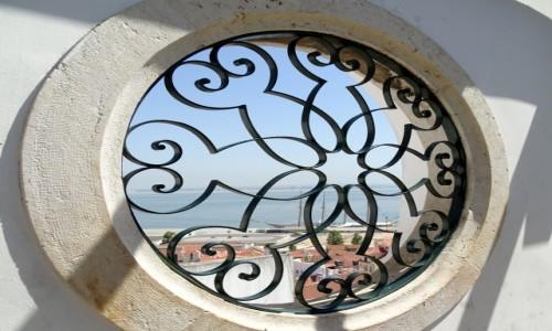 Zdjecie PORTUGALIA / dystrykt Lizbona / Lizbona - Miradouro de Santa Luzia / Okno na świat