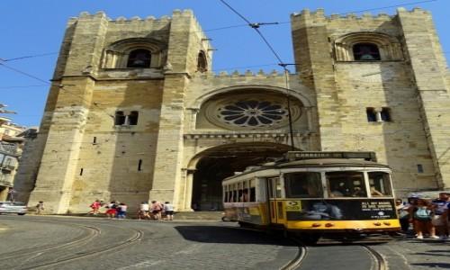 Zdjecie PORTUGALIA / dystrykt Lizbona / Lizbona - katedra / Sé