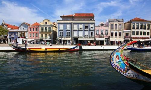 Zdjecie PORTUGALIA / Baixo Vouga / Aveiro  / Łodzie