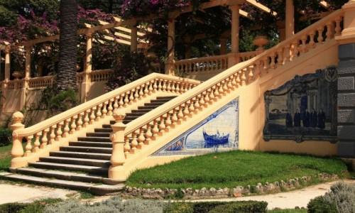 Zdjęcie PORTUGALIA / Aveiro / Park miejski / Architektura parkowa