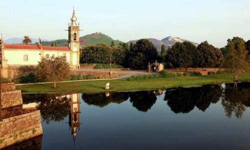 Zdjęcie PORTUGALIA / Viana do Castelo / Ponte de Lima / Convento de Santo António