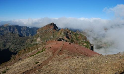 Zdjecie PORTUGALIA / Madera / Pico do Arieiro / widok z Pico do