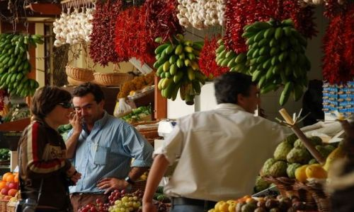 Zdjecie PORTUGALIA / Madera / Funczal / Mercado Dos  Lavradores - targ