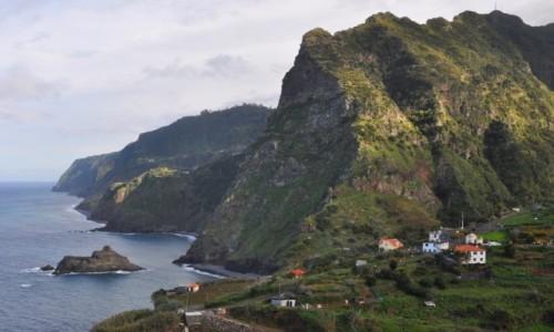 PORTUGALIA / Madera / okolice Sao Jorge / Wybrzeże północno-wschodnie