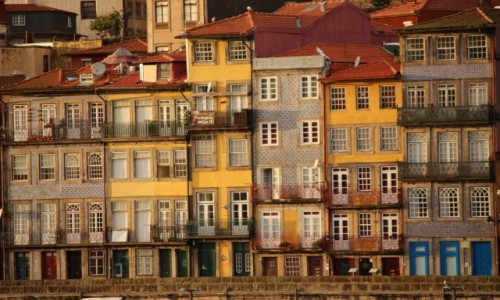 Zdjęcie PORTUGALIA / - / Porto / Kamienice