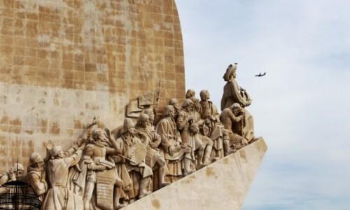 Zdjecie PORTUGALIA / - / Lizbona / Pomnik odkrywców