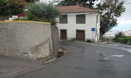 PORTUGALIA / Madera / Funchal / Tor zjazdu z góry Monte