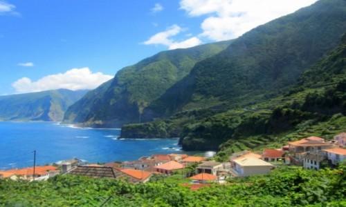 PORTUGALIA / Madera / okolice Porto Moniz / Madera - zielone oko oceanu