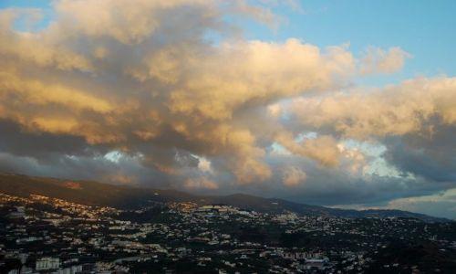 Zdjęcie PORTUGALIA / Madera / Pico da Tore / Funczal o zachodzie - pico da tore