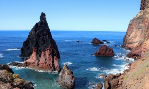 Zdjecie PORTUGALIA / Madera / Ponta de Sao Lourenco / Błękit Oceanu