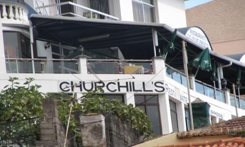 PORTUGALIA / Madera / Camara do Lobos / Balkon Churchilla (do artykułu)
