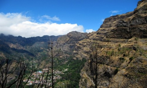 PORTUGALIA / Madera / okolice Funchal / Dolina Zakonnic