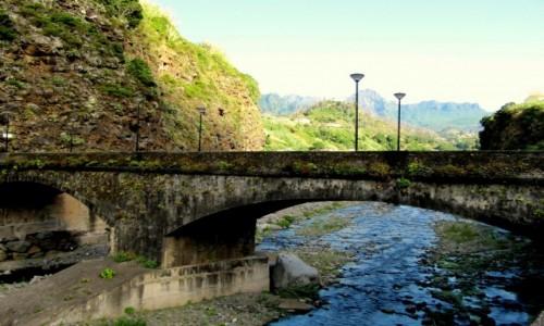 Zdjęcie PORTUGALIA / Madera / Sao Vicente / Stary, omszały most