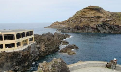 Zdjęcie PORTUGALIA / Madera / Madera / Porto Moniz - kurort na Maderze