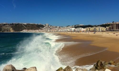 Zdjęcie PORTUGALIA / Centrum / Nazaré / Ocean