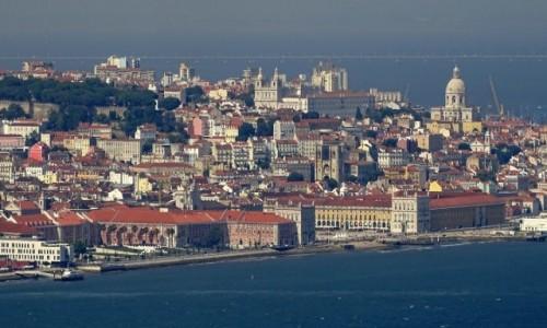 PORTUGALIA / Centrum / Lizbona / W upalne czerwcowe popołudnie